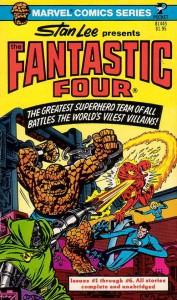 Fantastic Four Pocket Book Cover