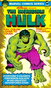 Incredible Hulk Pocket Book 1 Cover