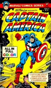 Captain America Pocket Book Cover