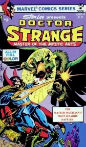 Doctor Strange Pocket Book Volume 2 Cover