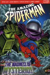Amazing Spider-Man The Madness Of Mysterio Cover