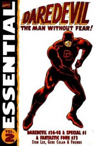 Essential Daredevil Volume 2 Cover
