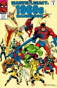 Marvel Legacy: The 1960s Handbook Cover