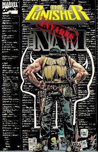 The Punisher Invades The Nam Cover