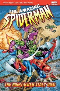 Amazing Spider-Man The Night Gwen Stacy Died Cover
