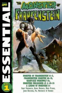 Essential The Monster Of Frankenstein Volume 1 Cover