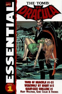 Essential The Tomb Of Dracula Volume 1 Cover