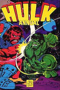 Hulk Annual Cover