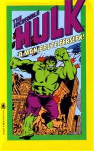 Incredible Hulk A Man Brute Berserk Cover
