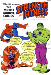 Stan Lee Presents The Mighty Marvel Comics Strength And Fitness Book Cover
