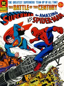 Superman Vs The Amazing Spider-Man Cover