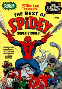 The Best Of Spidey Super Stories Cover