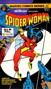 Spider-Woman Pocket Book Cover