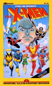 The X-Men Marvel Illustrated Cover