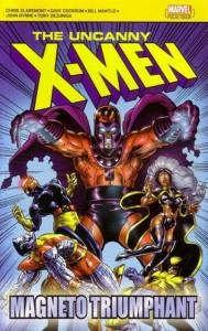 Uncanny X-Men Magneto Triumphant Cover