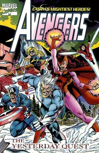 Avengers The Yesterday Quest Cover