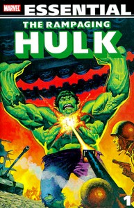 Essential The Rampaging Hulk Volume 1 Cover