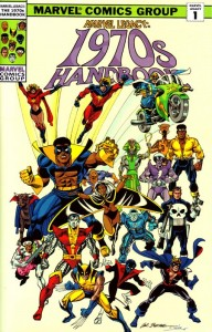 Marvel Legacy: The 1970s Handbook Cover