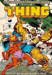 The Thing The Project Pegasus Saga Cover