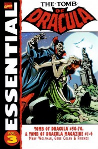 Essential The Tomb Of Dracula Volume 3 Cover