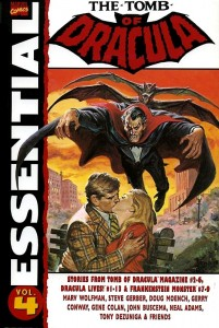 Essential The Tomb Of Dracula Volume 4 Cover