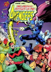 The Greatest Battles Of The Avengers Cover