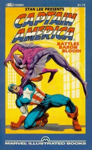 Captain America Battles Baron Blood Cover