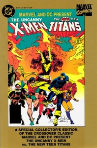 X-Men And The Teen Titans Cover
