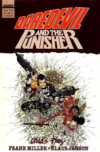 Daredevil And The Punisher Childs Play Cover