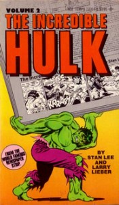 Incredible Hulk Newspaper Strips Vol. 2 Cover