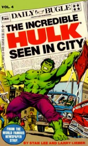 Incredible Hulk Newspaper Strips Vol. 4 Cover