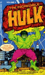 Incredible Hulk Newspaper Strips Vol. 5 Cover