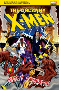 Uncanny X-Men Night Screams Cover