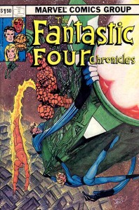 Fantastic Four Chronicles Cover