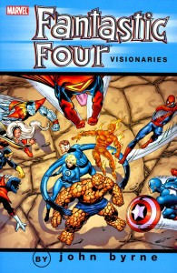 Fantastic Four Visionaries John Byrne Volume 2 Cover