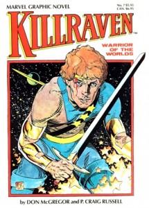 Killraven Warrior Of The Worlds Marvel Graphic Novel Cover