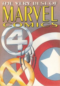 The Very Best Of Marvel Comics Cover