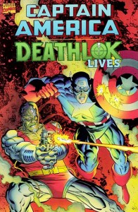 Captain America Deathlok Lives Cover