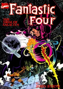Fantastic Four The Trial Of Galactus Cover