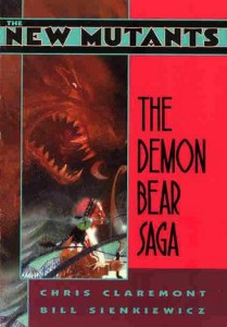 New Mutants The Demon Bear Saga Cover