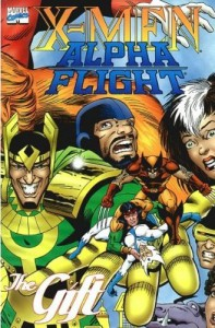 0797 X-Men Alpha Flight The Gift