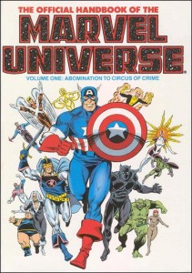 0799 Official Handbook of the Marvel Universe Vol 1