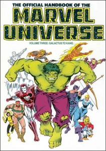 0801 Official Handbook of the Marvel Universe Vol 3