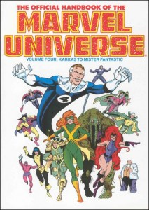 0802 Official Handbook of the Marvel Universe Vol 4