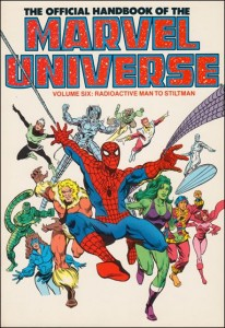 0804 Official Handbook of the Marvel Universe Vol 6
