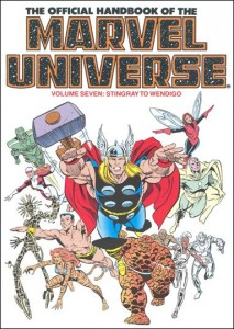 0805 Official Handbook of the Marvel Universe Vol 7