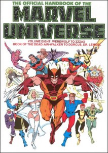 0806 Official Handbook of the Marvel Universe Vol 8