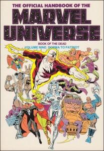 0807 Official Handbook of the Marvel Universe Vol 9