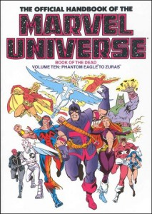 0808 Official Handbook of the Marvel Universe Vol 10