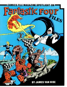 0812 Comics File Magazine Spotlight on the Fantastic Four
